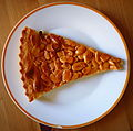 Almond cake from the Czech Republic.JPG