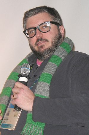 Alonso Duralde - Duralde at the 2006 Sundance Film Festival.