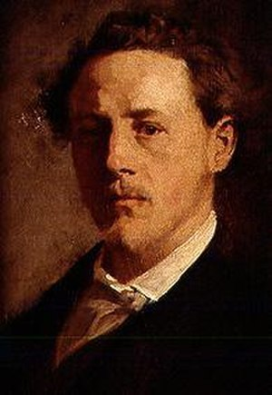 Theodor Alt - Self-portrait (c.1874)