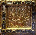 Altare di s. ambrogio, 824-859 ca., fronte dei maestri delle storie di cristo, 15 pentecoste.jpg