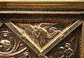 Altare di s. ambrogio, 824-859 ca., lato dx dei maestri delle storie di cristo, angeli e santi che adorano la croce gemmata 05.jpg