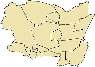 Municipalities of Guatemala - Image: Altaverapazmap