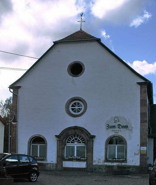 """""""Der Dom"""", alte Kirche in Kleinblittersdorf"""