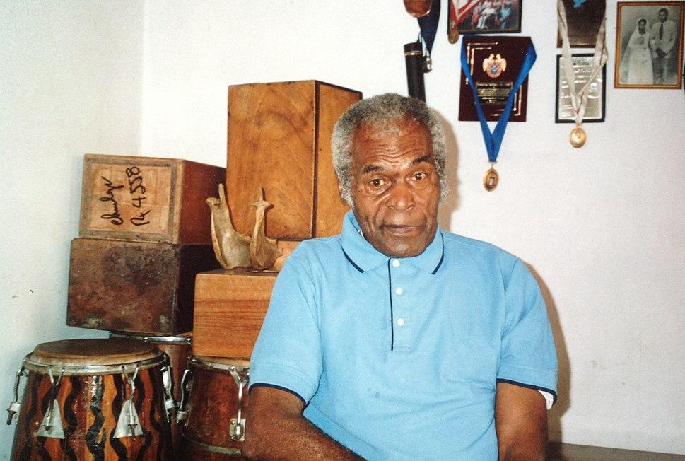 Amador Ballumbrosio chez lui à El Carmen
