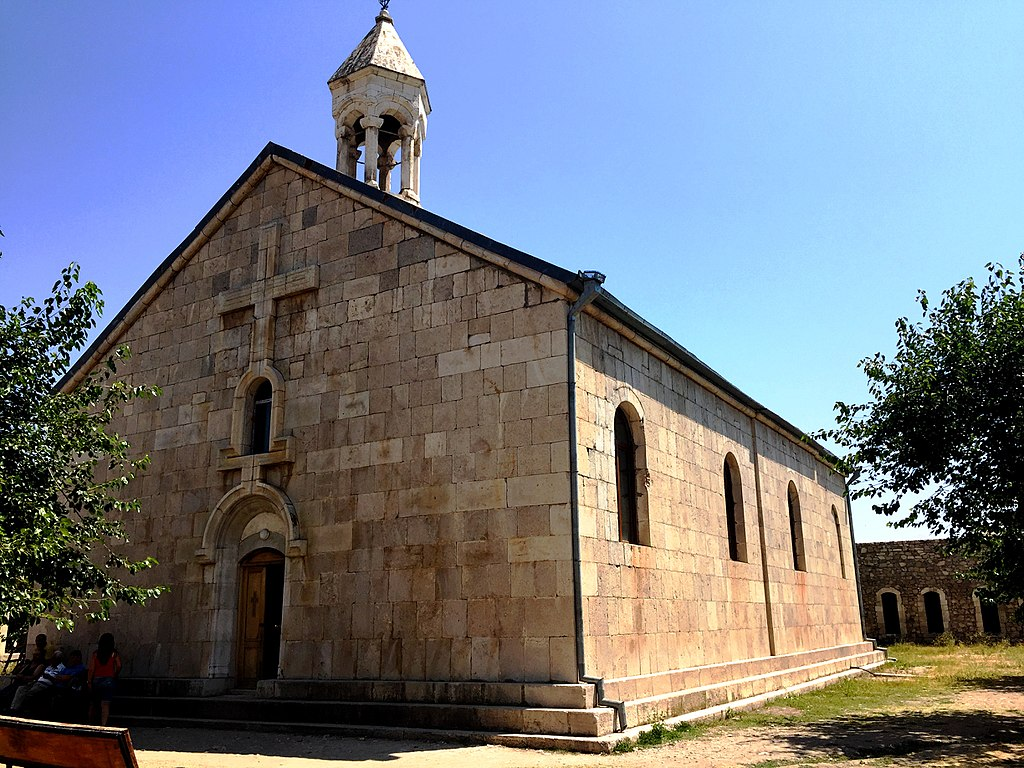 The rebuilt  St. Grigoris of the Amaras (Photo: Alina.Parazyan)