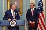 Ambassador Olson Delivers Remarks After Receiving the Secretary's Distinguished Service Award (30949704310).jpg