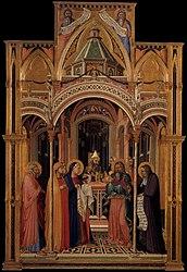Ambrogio Lorenzetti: Presentation at the Temple