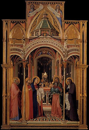 Ambrogio Lorenzetti - The Presentation in the Temple - WGA13480.jpg