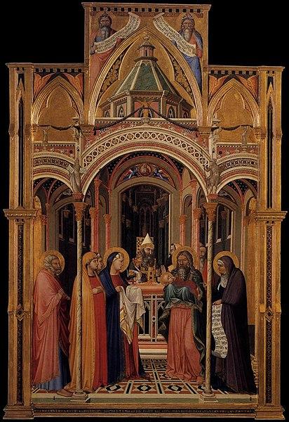 File:Ambrogio Lorenzetti - The Presentation in the Temple - WGA13480.jpg