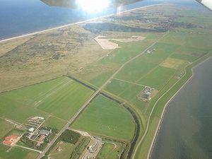 Ameland - Aerial photograph of Ameland