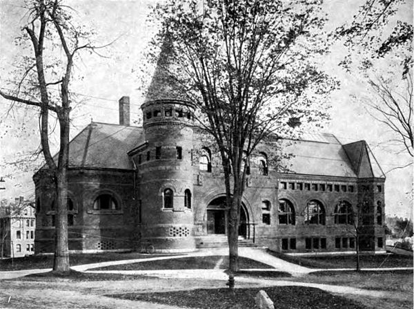 Americana 1920 Dartmouth College - Wilson Library.jpg