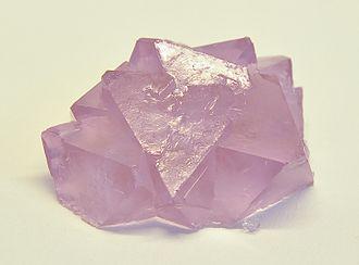 Ammonium iron(III) sulfate - Image: Ammoniumeisenalaun