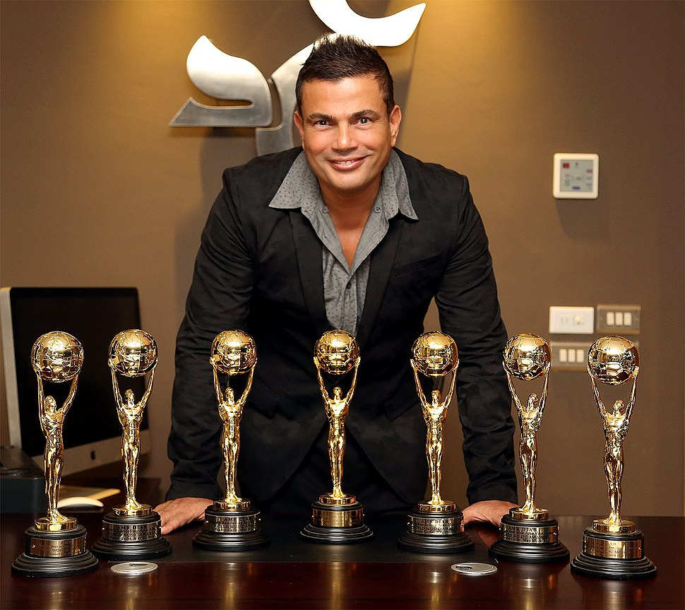 Amr Diab With World Music Awards