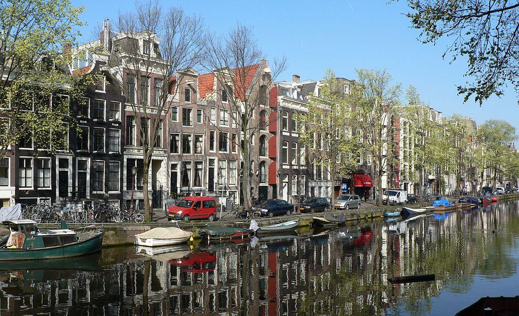 Vue sur un canal d'Amsterdam - Photo de Patrick Clenet