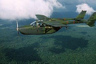 Cessna Skymaster - USAF O-2A over Panama