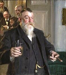 ZORN Anders A Toast in Idun 1892