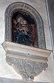 Andrea ferrucci, madonna col bambino, pietra serena dipinta.JPG