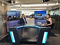 Andrew Scheer with Lily Jamali on Bloomberg TV in Toronto - 2017 (35894228271).jpg