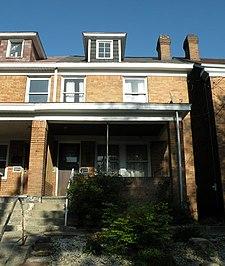 3252 Dawson Street South Oakland Neighborhood Of Pittsburgh Pennsylvania
