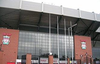 Billy Liddell - Anfield Stadium