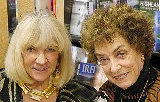 Carol Beckwith - Angela Fisher (left) and Carol Beckwith (right), Hatchards, London, November 2018