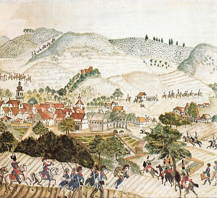 French attack on Aalen of 1796