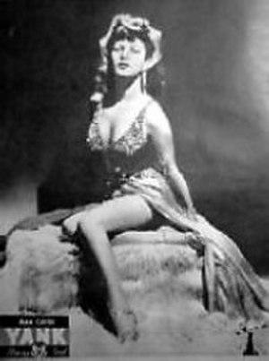 Ann Corio - Ann Corio in YANK magazine, 1943