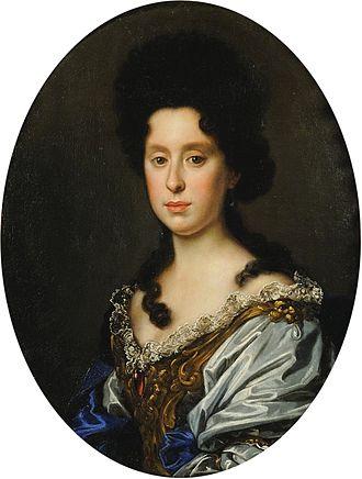 Anna Maria Luisa de' Medici - Image: Anna Maria Luisa de' Medici (1667 1743)