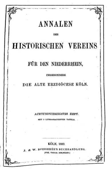 File:Annalen des Historischen Vereins für den Niederrhein 48 (1889).djvu