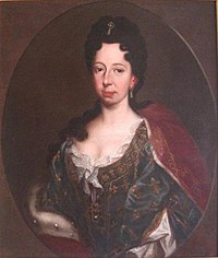 Anne Marie d'Orléans as Queen held at the Villa della Regina.jpg