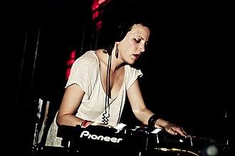 Annie Mac - Annie Mac performing at Amnesia, 2012