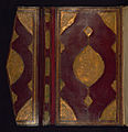 Anonymous - Binding from Five Poems (Quintet) - Walters W606binding - Bottom Interior Open.jpg