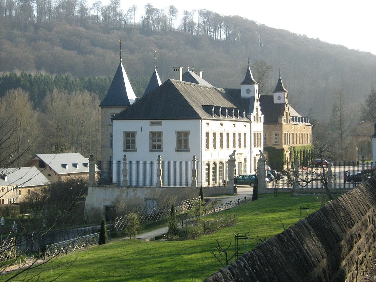 New Castle Of Ansembourg Wikipedia