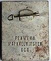 Anstecknadel, Berlin Hauptstadt der DDR, Rückseite Präwema (Prägewerk) Markneukirchen.jpg