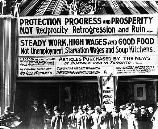 Anti-reciprocity signs 1911 Toronto