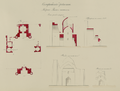 Antiquities of Samarkand. Madrasah of Bibi Khanym. Plan, Elevation, and Sections WDL3931.png