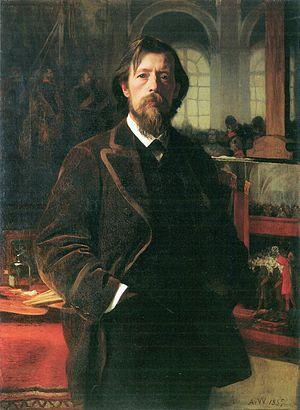 Anton von Werner - Self portrait, 1885
