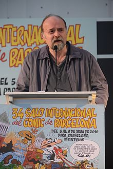Antoni Guiral. Barcelona International Comics Convention 2016.JPG
