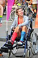 Antwerp on wheels - Matching broken legs! (3899178342).jpg