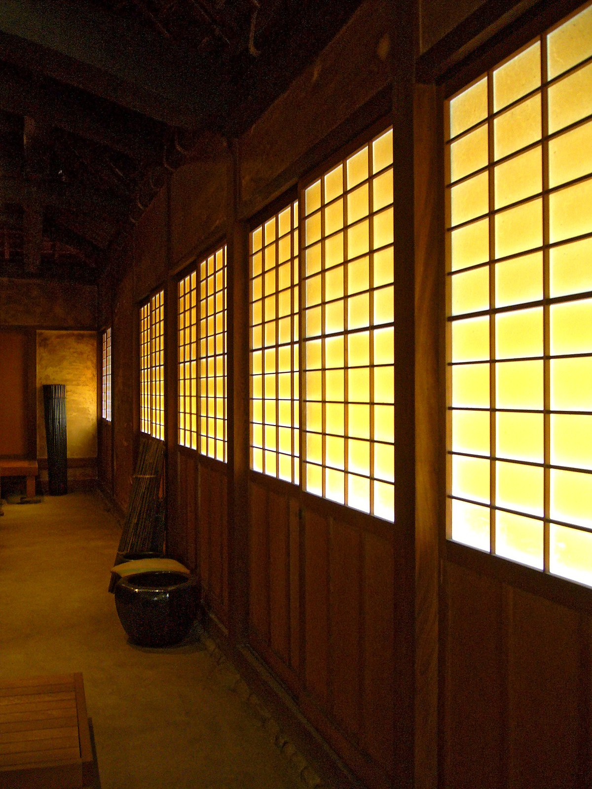 Interieur Maison Japonaise Traditionnelle shōji — wikipédia