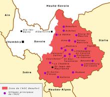vallée de la tarentaise carte Vallée de la Tarentaise — Wikipédia