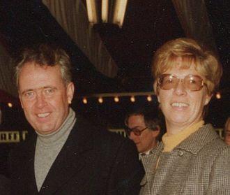 Hans Apel - Mr. and Mrs. Apel in 1990