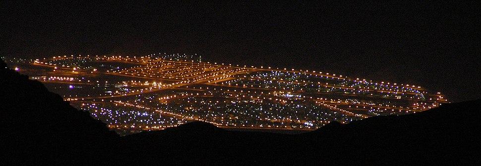 Aqaba at night