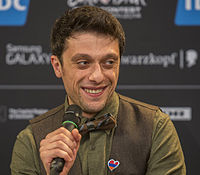 Aram Mp3, ESC2014 Armenia 1st press conference 03 (crop).jpg