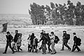 Arba'een In Mehran City 2016 - Iran (Black And White Photography-Mostafa Meraji) اربعین در مهران- ایران- عکس های سیاه و سفید 21.jpg