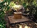 Arborloo construction in Cap-Haitien - 4 - Seat.jpg