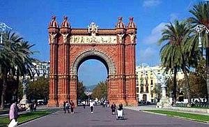 Josep Vilaseca i Casanovas - The Arc de Triomf in Barcelona