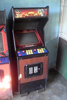Video Game Arcade Cabinet Wikipedia