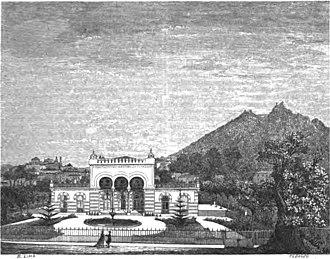Quinta do Relógio - Image: Arch Pitt Sintra Quinta Relogio 1864