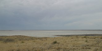 Grulla National Wildlife Refuge - Image: Arch Lake New Mexico 2009